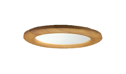 三菱電機 施設照明LEDベースダウンライト MCシリーズ クラス25099° φ150 反射板枠(木枠)昼白色 省電力タイプ 固定出力 水銀ランプ100形相当EL-D12/3(251NS) AHN