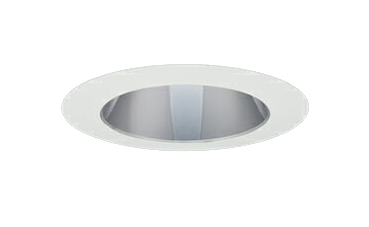 三菱電機 施設照明LEDベースダウンライト MCシリーズ クラス15037° φ150 反射板枠(グレアソフト 銀色コーン 遮光45°)温白色 一般タイプ 固定出力 FHT32形相当EL-D21/3(151WWM) AHN