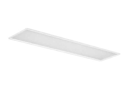 EL-LFB4542A AHX(34N3A)LDL40 300幅 乳白カバータイプ2灯用 連続調光対応 3400lmクラスランプ付(昼白色)直管LEDランプ搭載ベースライト 埋込形三菱電機 施設照明