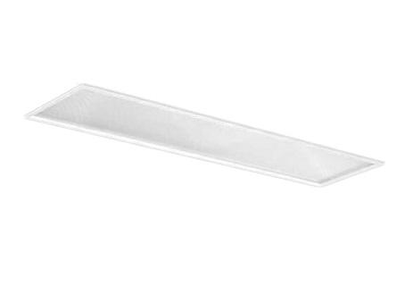 EL-LFB4552A AHX(34N3A)LDL40 300幅 プリズムカバータイプ2灯用 連続調光対応 3400lmクラスランプ付(昼白色)直管LEDランプ搭載ベースライト 埋込形三菱電機 施設照明