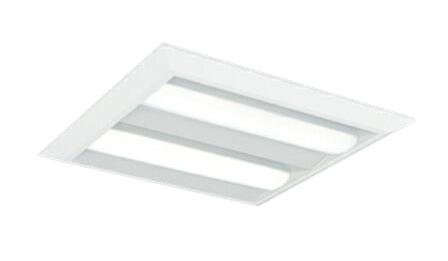 三菱電機 施設照明LEDスクエアベースライト 一体形□530 直付・半埋込兼用形(下面開放タイプ)クラス800 FHP32形×4灯器具相当Cチャンネル回避形 白色 連続調光(信号制御)EL-SC8010W/4 AHTZ