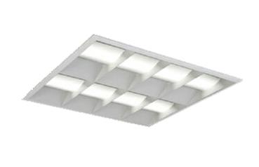 三菱電機 施設照明LEDスクエアベースライト 一体形□600 埋込形(マルチルーバタイプ)クラス1200 FHP45形×4灯器具相当ダクト回避形 温白色 連続調光(信号制御)EL-SK12011WW/5 AHTZ
