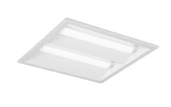 三菱電機 施設照明LEDスクエアベースライト 一体形□350 埋込形(下面開放タイプ)クラス300 FHT32形×2灯器具相当温白色 連続調光(信号制御)EL-SK3010WW/3 AHTZ