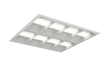 三菱電機 施設照明LEDスクエアベースライト 一体形□600 埋込形(マルチルーバタイプ)クラス600 FHP32形×3灯器具相当ダクト回避形 温白色 連続調光(信号制御)EL-SK6011WW/5 AHTZ