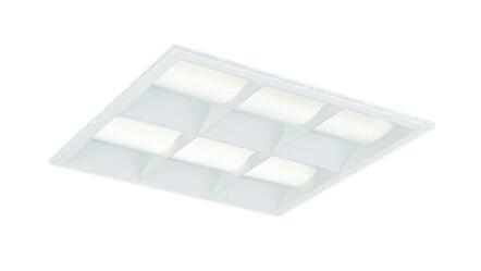 三菱電機 施設照明LEDスクエアベースライト 一体形□450 埋込形(マルチルーバタイプ)クラス800 FHP32形×4灯器具相当ダクト回避形 白色 連続調光(信号制御)EL-SK8011W/4 AHTZ