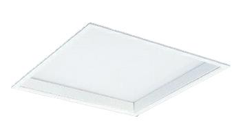 三菱電機 施設照明LEDスクエアベースライト 一体形□600 埋込形(乳白カバー深枠タイプ)クラス900 FHP45形×4灯器具相当温白色 連続調光(信号制御)EL-SK9013WW/5 AHTZ