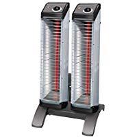 ダイキン 遠赤外線暖房機 セラムヒート工場・作業場用 床置スリム形ツインタイプ 2kW 単相200VERK20ND