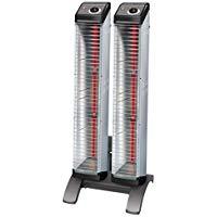 ダイキン 遠赤外線暖房機 セラムヒート工場・作業場用 床置スリム形ツインタイプ 3kW 単相200VERK30ND