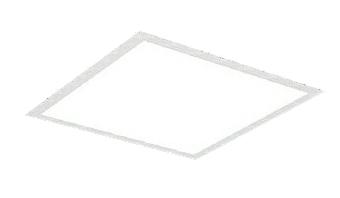 遠藤照明 施設照明LEDスクエアベースライト FLAT BASEシリーズFHP45W×2器具相当 5500lmタイプ □600タイプ埋込下面乳白パネル 昼白色 調光/非調光兼用型ERK9722W