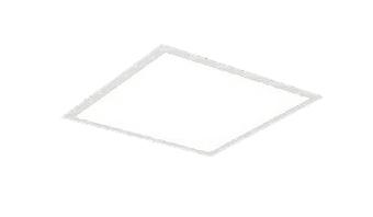 遠藤照明 施設照明LEDスクエアベースライト FLAT BASEシリーズFHP32W×3灯用相当 6000lmタイプ □450タイプ埋込下面乳白パネル 温白色 調光/非調光兼用型ERK9735W