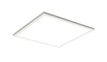 遠藤照明 施設照明LEDスクエアベースライト FLAT BASEシリーズFHP32W×3器具相当 6000lmタイプ □450タイプ直付下面乳白パネル ナチュラルホワイト 調光/非調光兼用型ERK9738W