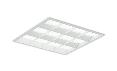 遠藤照明 施設照明LEDスクエアベースライト SDシリーズFHP32W×3灯用器具相当 6000lmタイプ埋込白ルーバ形 □450タイプ 温白色 調光/非調光兼用型ERK9780W