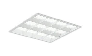 遠藤照明 施設照明LEDスクエアベースライト SOLID TUBEシリーズ埋込□600 白ルーバ形FHP45W×4灯相当調光/非調光兼用型 アパレルホワイト4200KERK9788W