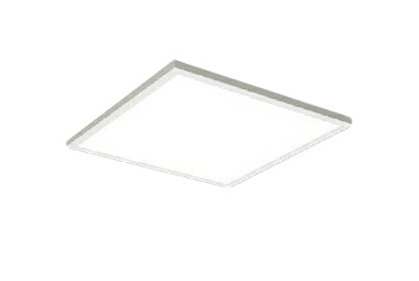 遠藤照明 施設照明LEDスクエアベースライト FLAT BASEシリーズFHP32W×3器具相当 6000lmタイプ □450タイプ直付下面乳白パネル 昼白色 調光/非調光兼用型ERK9825W