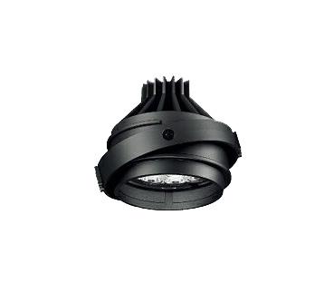 遠藤照明 施設照明LEDユニバーサルダウンライト ARCHIシリーズムービングジャイロシステム 灯体ユニットCDM-TC 70W相当 中角配光21° Rs-12非調光 Ra85 ナチュラルホワイトERS3987B