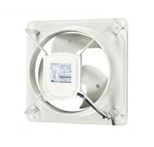 三菱電機 産業用有圧換気扇低騒音形 単相100V工場・作業場・倉庫用【給気専用】EWF-25ASA-Q