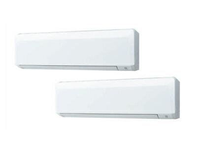 三菱重工 業務用エアコン エクシードハイパー壁掛形 同時ツイン160形FDKZ1605HP5S(6馬力 三相200V ワイヤード)