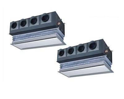 三菱重工 業務用エアコン ハイパーVSX天埋カセテリア(ビルトイン型) 個別ツイン224形FDRVP2244HPS4L(8馬力 三相200V ワイヤード キャンバスダクトパネル仕様)
