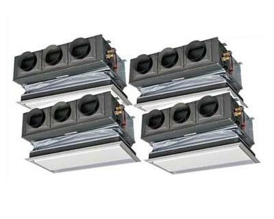 三菱重工 業務用エアコン ハイパーVSX天埋カセテリア(ビルトイン型) 同時ダブルツイン280形FDRVP2804HDS4L(10馬力 三相200V ワイヤード キャンバスダクトパネル仕様)