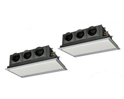 三菱重工 業務用エアコン エクシードハイパー天埋カセテリア 同時ツイン140形FDRZ1405HP5S(5馬力 三相200V ワイヤード サイレントパネル仕様)