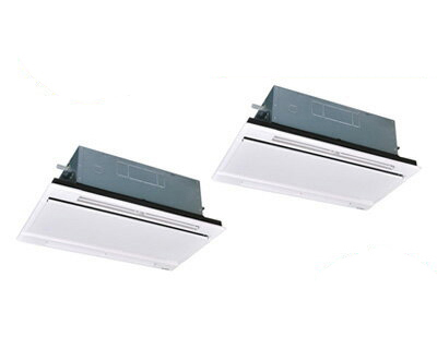 三菱重工 業務用エアコン エクシードハイパー天井埋込形2方向吹出し ツイン160形FDTWZ1605HP5S(6馬力 三相200V ワイヤレス ホワイトパネル仕様)