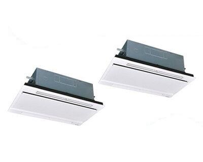三菱重工 業務用エアコン エクシードハイパー天井埋込形2方向吹出し ツイン80形FDTWZ805HP5S(3馬力 三相200V ワイヤレス ホワイトパネル仕様)