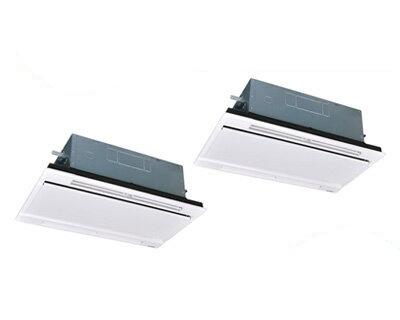 三菱重工 業務用エアコン エクシードハイパー天井埋込形2方向吹出し ツイン80形FDTWZ805HP5S(3馬力 三相200V ワイヤード ホワイトパネル仕様)