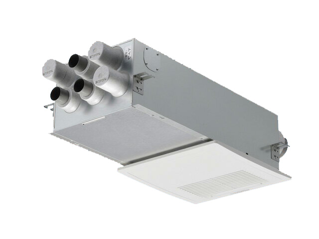 FY-12VBD2ACL住宅用 熱交気調(カセット形) エアテクト 熱交換気ユニットDCモーター 120立方m/hタイプ 温度センサー付 24時間常時換気推奨パナソニック Panasonic 気調システム