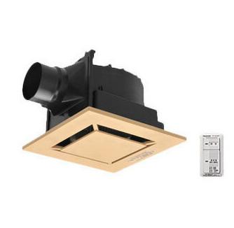 パナソニック Panasonic 天井埋込形換気扇パッと換気スイッチ付 ルーバー組合せ品番(樹脂製 インテリア ライトブラウン) 低騒音形トイレ・洗面所、居室・廊下・ホール・事務所・店舗用FY-24J8VC/89