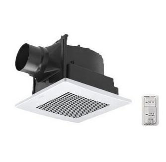 パナソニック Panasonic 天井埋込形換気扇パッと換気スイッチ付 ルーバー組合せ品番(樹脂製 十字格子 ホワイト) 低騒音・特大風量形浴室、トイレ・洗面所、居室・廊下・ホール・事務所・店舗用FY-24JG8VC/56