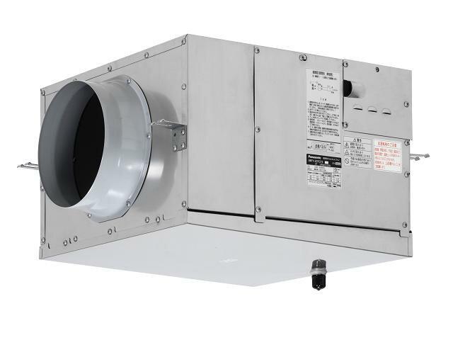 Panasonic ダクト用送風機器消音ボックス付送風機 厨房形キャビネットファン 三相200VFY-25TCX3
