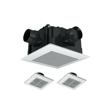 パナソニック Panasonic 天井埋込形換気扇2~3室換気用 ルーバーセットタイプ 低騒音・大風量形浴室、トイレ・洗面所用 吸込グリル2個付属FY-32CPTS7