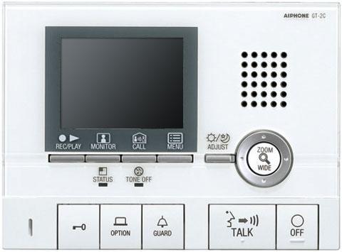 アイホン ビジネス向けインターホンテナントビル用テレビドアホン GTシステムモニター付親機GT-2C