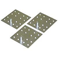 三菱電機 エコキュート・電気温水器 部材脚固定金具(木質床用・M12ネジ)GZ-H12A
