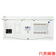 日東工業 エコキュート(電気温水器)+IH+蓄熱用 HCB形ホーム分電盤 入線用端子台付 TL404タイプ(ドア付)リミッタスペース付 露出・半埋込共用型 電気温水器用ブレーカ容量40A主幹3P60A 分岐10+2HCB13E6-102TL404B