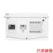 日東工業 エコキュート(電気温水器)+IH用 HCB形ホーム分電盤 契約用ブレーカ付 二次側分岐タイプ(ドア付)露出・半埋込共用型 エコキュート用ブレーカ30A主幹3P75A 分岐26+2HCB13E7-262E2K6B