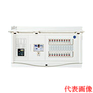 日東工業 エコキュート(電気温水器)+IH用 HCB形ホーム分電盤 入線用端子台付(ドア付)リミッタスペースなし 露出・半埋込共用型 エコキュート用ブレーカ20A主幹3P50A 分岐10+2HCB3E5-102TL2B