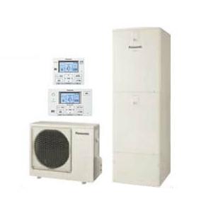 【ボイスリモコン付】Panasonic エコキュート 370L床暖房機能フルオートタイプ DFシリーズHE-D37FQMS + HE-CQVFW