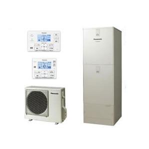 【コミュニケーションリモコン付】Panasonic エコキュート 370Lパワフル高圧 酸素入浴機能付ECONAVI フルオートタイプ JPシリーズHE-JPU37JXS + HE-RXFJW