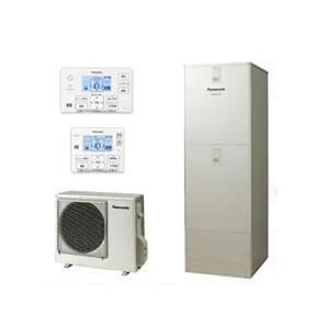 【コミュニケーションリモコン付】パナソニック Panasonic エコキュート 370Lパワフル高圧 酸素入浴機能付ECONAVI フルオートタイプ JシリーズHE-JU37JXS + HE-RXFJW