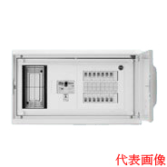 日東工業 HMB形ホーム分電盤 基本タイプ(ドア付・スチール製キャビネット)リミッタスペース付 露出・埋込共用型主幹3P30A(30AF) 分岐6+0HMB13E-60A