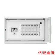 日東工業 HMB形ホーム分電盤 基本タイプ(ドア付・スチール製キャビネット使用)リミッタスペースなし 露出・埋込共用型主幹3P30A 分岐10+0HMB3E53-100A