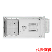 日東工業 HMB形テナント用ホーム分電盤 WHMスペース付 単相2線式(ドア付・スチール製キャビネット)リミッタスペースなし 露出・埋込共用型主幹3P50A 分岐12+4HMB3WE5-124A