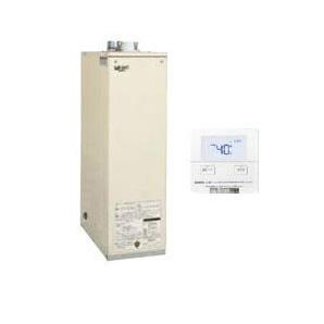 サンポット 石油給湯機器セミ貯湯シリーズ Utac 給湯専用床置式 屋内設置型 37.8kW強制給排気 音声リモコン付属HMG-385M F + SRC-477MVC