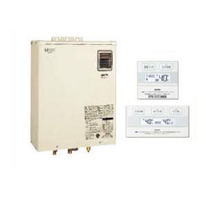サンポット 石油給湯機器Qタイプシリーズ Utac 水道直圧式 給湯・追いだきオートタイプ 壁掛式 屋外設置型 46.5kW開放タイプ 簡単リモコン付属HMG-Q477AKO + SRC-477A