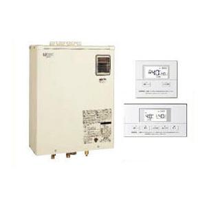 サンポット 石油給湯機器Qタイプシリーズ Utac 水道直圧式 給湯・追いだきオートタイプ 壁掛式 屋外設置型 46.5kW開放タイプ 音声リモコン付属HMG-Q477AKO + SRC-476AV
