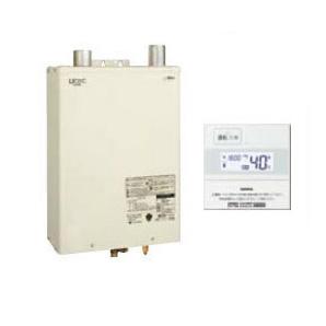 サンポット 石油給湯機器Qタイプシリーズ Utac 水道直圧式 給湯専用壁掛式 屋内設置型 46.5kW強制給排気 簡単リモコン付属HMG-Q477MKF + SRC-477M