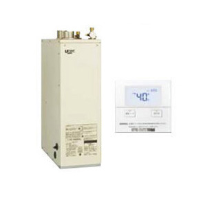 サンポット 石油給湯機器Qタイプシリーズ Utac 水道直圧式 給湯専用床置式 屋内設置型 46.5kW強制給排気 音声リモコン付属HMG-Q477MSF + SRC-477MVC