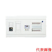 日東工業 エコキュート(電気温水器)+IH用 HPB形ホーム分電盤 入線用端子台付(ドアなし)リミッタスペース付 露出・半埋込共用型 エコキュート用ブレーカ30A主幹3P50A 分岐10+2HPB13E5-102TL3B