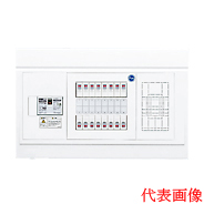 日東工業 ホーム分電盤HPB形ホーム分電盤 ドアなしリミッタスペースなし付属機器取付スペース付露出・半埋込共用型 主幹3P40A 分岐8+4HPB3E4-84N